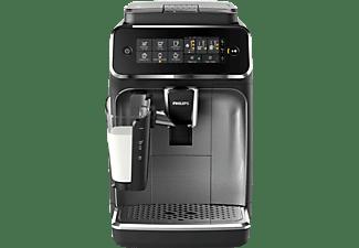 PHILIPS EP 3246/70 3200 LATTEGO Kaffeevollautomat Schwarz/Silber lackiert