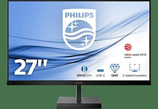 PHILIPS 276C8/00 27 Zoll QHD Monitor (4 ms Reaktionszeit, 75 Hz)