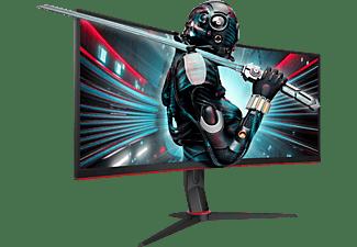 AOC Curved CU34G2X/BK 34 Zoll WQHD Gaming Monitor (1 ms Reaktionszeit, 144 Hz)