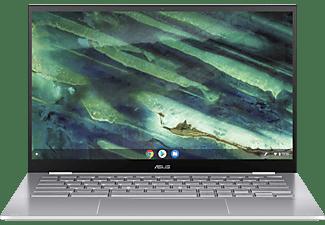 ASUS Chromebook Flip C436 (C436FA-E10029), Chromebook mit 14,0 Zoll Display Touchscreen, Intel® Core™ i5 Prozessor, 8 GB RAM, 512 GB SSD, Intel® UHD Graphics, Transparent Silver