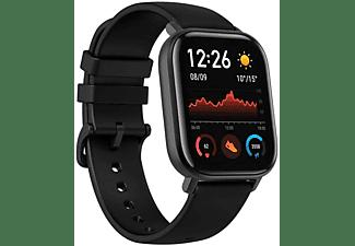 Smartwatch - AmazFit GTS, 20mm, Aluminio, Polímero, Negro