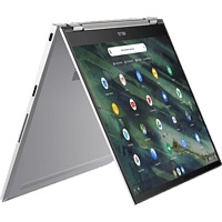 ASUS Chromebook Flip C436 (C436FA-E10027), Chromebook mit 14,0 Zoll Display Touchscreen, i5 Prozessor, 16 GB RAM, 512 GB SSD, Intel® UHD Graphics, Aerogel White
