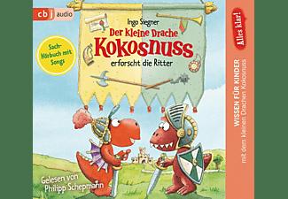 - Der kleine Drache Kokosnuss erforscht die Ritter  - (CD)