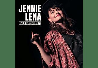 Jennie Lena - LIVE, RAW And INTIMATE  - (CD)