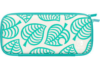 NINTENDO Switch Lite (Édition Animal Crossing : New Horizons) - Pochette de transport + Protection d'écran (Blanc/Bleu/Vert)