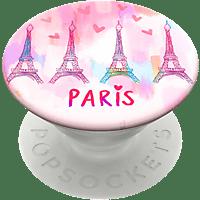 POPSOCKETS PopGrip Paris Love Handyhalterung, Mehrfarbig