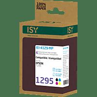 ISY IEI-4129-MP Tintenpatrone passend für EPSON T1295 Multipack Mehrfarbig (EPSON T1295 Multipack)