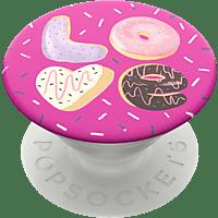 POPSOCKETS PopGrip Love Donut Handyhalterung, Mehrfarbig