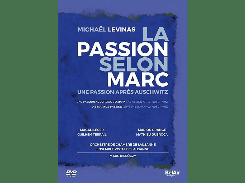 VARIOUS, Orchestre De Chambre De Lausanne, Ensemble Vocal De Lausanne - La Passion selon Marc [DVD]