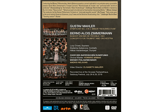 Lucy Crowe, Ekaterina Cubanova, Håkan Hardenberger, Chor Des Bayerischen Rundfunks, Wiener Philharmoniker - Nelsons conducts the Wiener Philharmoniker  - (DVD)