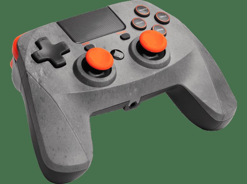 Snakebyte Game:Pad 4 S wireless (Rock) für PS4