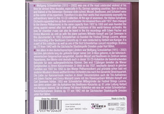 Schneiderhan Wolfgang - Milestones Of A Violin Legend  - (CD)
