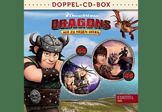Dragons-auf Zu Neuen Ufern - Dragons-Doppel-Box-Folgen 44+45  - (CD)