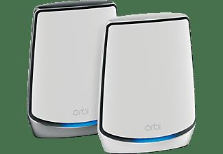 NETGEAR Orbi RBK852-100EUS Whole Home AX6000 Tri-Band-WLAN WiFi 6 System 6 Gbit/s