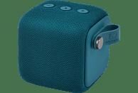 FRESH N REBEL Rockbox Bold S Bluetooth Lautsprecher, Dunkelblau, Wasserfest