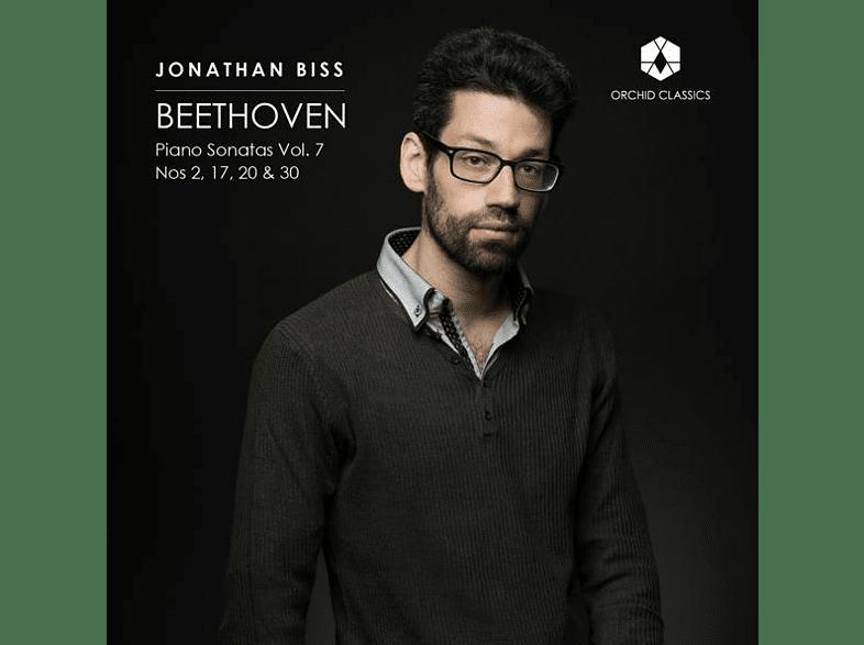 Jonathan Biss - Klaviersonaten Vol.7 [CD]