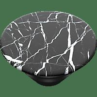 POPSOCKETS PopTop Black Marble Handyhalterung, Schwarz/Weiß