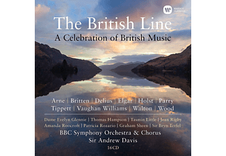 VARIOUS - THE BRITISH LINE-A CELEBRATION OF BRITISH MUSIC  - (CD)