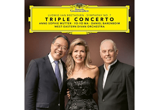 Anne-Sophie Mutter, West-Eastern Divan Orchestra, Yo-Yo Ma - Beethoven: Triple Concerto  - (Blu-ray)