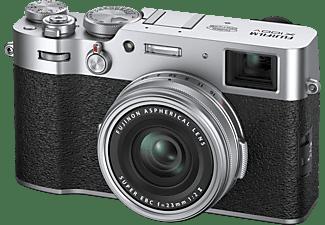 FUJIFILM X100V Kompaktkamera Silber, 26.1 Megapixel, Festbrennweite opt. Zoom, LC, WLAN