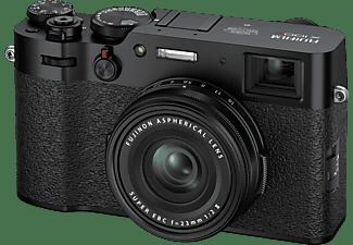 FUJIFILM X100V Kompaktkamera Schwarz, Festbrennweite opt. Zoom, LC, WLAN