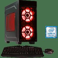 HYRICAN STRIKER 6474, Gaming PC mit Core™ i5 Prozessor, 16 GB RAM, 480 GB SSD, 1 TB HDD, GeForce GTX 1650, 4 GB