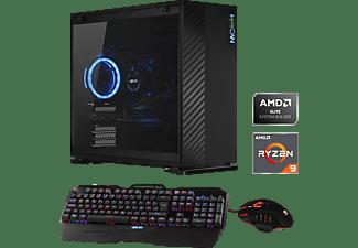 HYRICAN ALPHA 6485, Gaming PC mit Ryzen 9 Prozessor, 32 GB RAM, 2 TB SSD, Geforce RTX 2070 SUPER, 8 GB