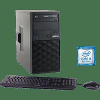 HYRICAN CTS00683, Desktop PC, Core i5 Prozessor, 16 GB RAM, 1 TB SSD, Intel UHD-Grafik 630, Schwarz