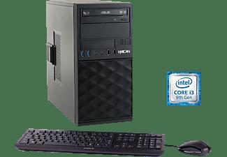 HYRICAN CTS00682, Desktop PC mit Core i3 Prozessor, 8 GB RAM, 1 TB SSD, Intel UHD-Grafik 630
