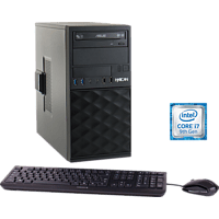 HYRICAN CTS00684, Desktop PC, Core i7 Prozessor, 16 GB RAM, 1 TB SSD, Intel UHD-Grafik 630, Schwarz
