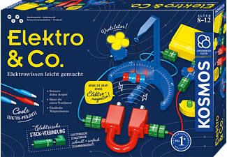 KOSMOS Elektro & Co. Experimentierkasten, Mehrfarbig