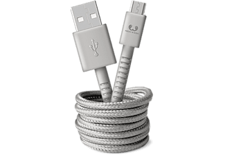 FRESH N REBEL Câble microUSB 1.5 m Gris (2UMC150IG)