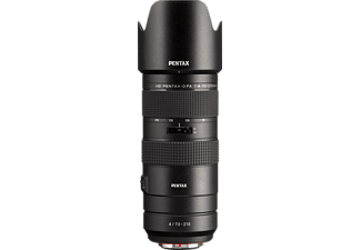 PENTAX DFA 70 mm - 210 mm F4 ASPH, DFA, SDM, smc, WR (Zoomobjektiv für Pentax K-Mount, Schwarz)