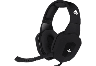 4GAMERS PS4 Stereo Pro4-80, On-ear Gaming Headset Schwarz