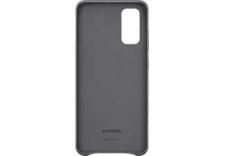 SAMSUNG Leather Cover, Backcover, Samsung, Galaxy S20, Grau