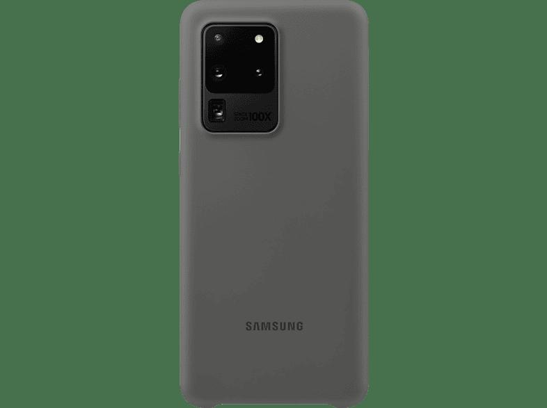 SAMSUNG Silicone Cover , Backcover, Samsung, Galaxy S20 Ultra, Silikon, Gray