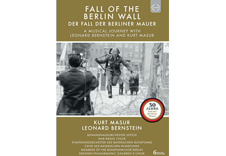 VARIOUS, Gewandhausorchester Leipzig, MDR Radio Choir, Symphonieorchester Des Bayerischen Rundfunks, Chor Des Bayerischen Rundfunks, Members Of The Rundfunkchor Berlin, Dresden Philarmonic Children's Choir - FALL OF THE BERLIN WALL  - (DVD)