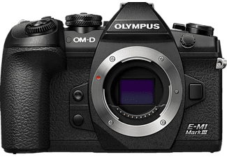 OLYMPUS OM-D E-M1 Mark III Systemkamera, 7,6 cm Display Touchscreen, WLAN