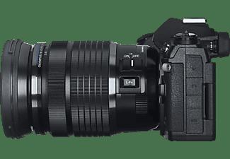 OLYMPUS OM-D E-M1 Mark III inkl. M.Zuiko Digital ED 12-100mm F4.0 IS PRO Objektiv  Systemkamera 24.4 Megapixel mit Objektiv 12-100 mm, 7,6 cm Display Touchscreen, WLAN