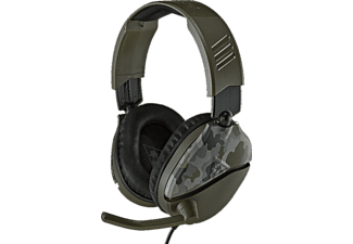 TURTLE BEACH Recon 70 Camo Headset - Grün für PS4, PS4 Pro, Xbox One, Nintendo Switch, Mobilgeräte