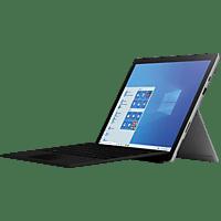 MICROSOFT Surface Pro 7, Convertible mit 12.3 Zoll Display, Core™ i5 Prozessor, 8 GB RAM, 128 GB SSD, Intel® Iris™ Plus Grafik, Platinum
