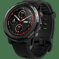 AMAZFIT Stratos 3 Smartwatch Polycarbonate + Fiberglas Silikon, 195 mm, Schwarz