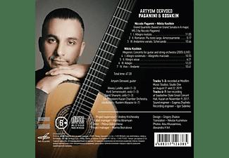 La Primavera Kazan Chamber Orchestra, Artyom Dervoed, Rustem Abyazov - Artyom Dervoed-Paganini And Koshkin  - (CD)