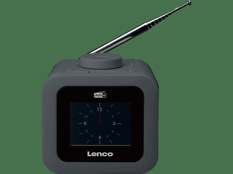 LENCO CR-620 Radiowecker (Grau)