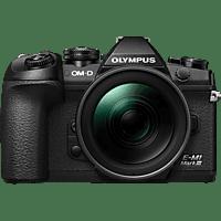 OLYMPUS Systemkamera OM-D E-M1 Mark III Schwarz mit M.Zuiko digital ED 12-40mm f2.8 PRO