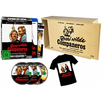 Zwei wilde Companeros  Platinum Cult Edition   (+ T-Shirt) in Holzbox [Blu-ray + DVD]