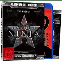 Die 9 Leben der Ninja  - Platinum Cult Edition - Uncut & HD Remastered [Blu-ray + DVD]