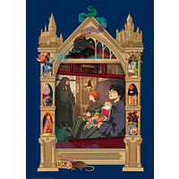 RAVENSBURGER Harry Potter Weg auf dem Weg nach Hogwards Puzzle, Mehrfarbig