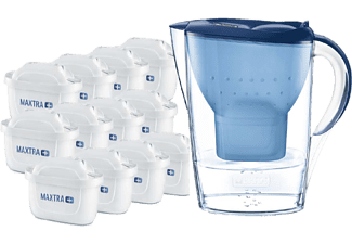 BRITA Wasserfilter Marella blau inkl. 12 MAXTRA+
