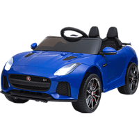 JAMARA KIDS Ride-on Jaguar F-Type SVR 12V Modellfahrzeug, Blau